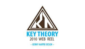 Key Theory Web Design Reel 2010